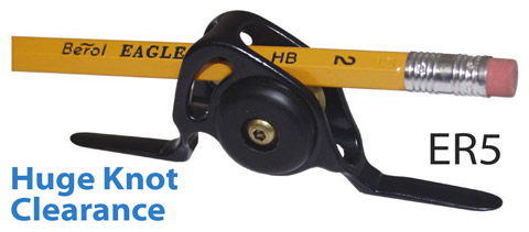 Winthrop Roller Guides Feature Super Large Knot Clearance for Large Leaders